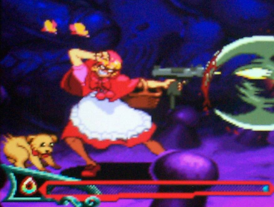 Vampire Savior2 on Sony monitor